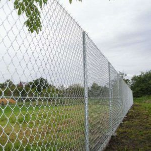 CHAIN LINK FENCING GALVANIZED