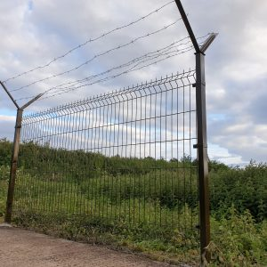 3D SECURITY PANEL , BARBED WIRE