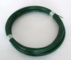 galvanized wire + pvc