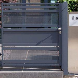 single gate mesh infill