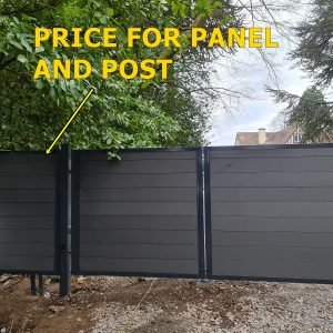FENCE PANEL AND POST